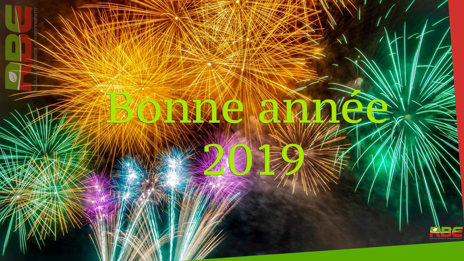 Nous vous souhaitons une excellente année 2019